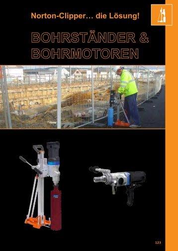 Produktinfos Kernbohrtechnik - Dienstel Baumaschinen