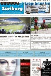 Stadion steht – im Kleinformat - Lokalinfo AG