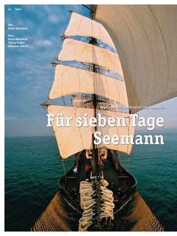 Für sieben Tage Seemann