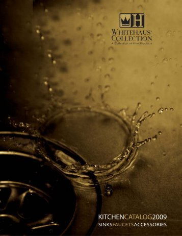 Kitchen Catalog - Whitehaus Collection
