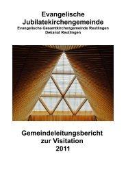 Evangelische Jubilatekirchengemeinde ... - Orschel-Hagen