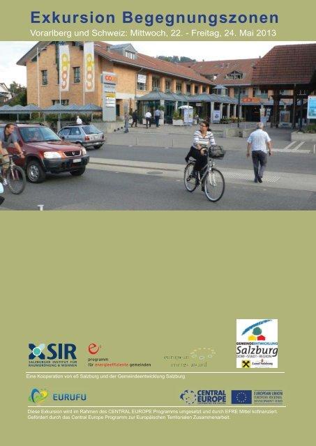 Programm und Beschreibung der Exkursionsziele - e5-Salzburg