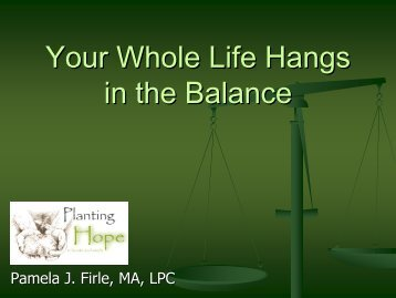 Your Whole Life Hangs in the Balance - Catholic Volunteer Network