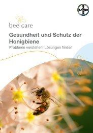 Gesundheit und Schutz der Honigbiene - Bee Care - Bayer