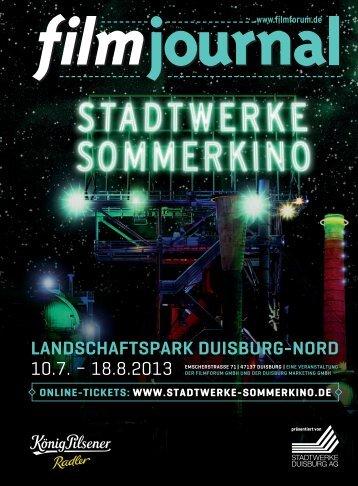 landschaftspark duisburg-nord 10.7. - Stadtwerke Sommerkino