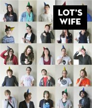 Edition Eight, 2012 - Lot's Wife