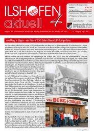 Ausgabe 4-2011 - Gewerbeverein Ilshofen eV / Startseite