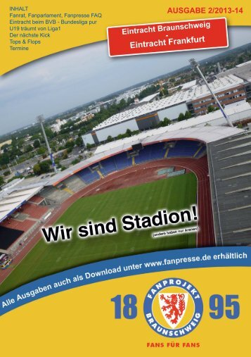 Heft 02: Eintracht Frankfurt - FanPresse Braunschweig