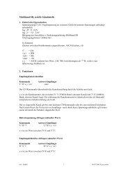 Multiband-SR, serielle Schnittstelle - Produktinfo.conrad.com