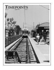 Aug 1991 - Electric Railway Historical Association of Southern ...