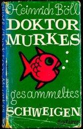 Doktor Murkes gesammeltes Schweigen und ... - buchkalmar.de