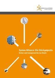 System Alliance: Die Stückgutprofis