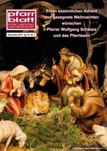 Pfarrblatt Nr. 4 - Pfarre Christkönig - Diözese Graz-Seckau