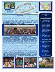 September 2012 newsletter - Church of God Global Missions