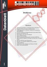 Drehkreuz Datenblatt V3 - scanterminal.de
