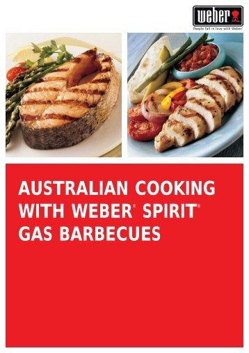 Handbooks pdf weber weber spirit cookbook finalqxd australia wide forumfinder Choice Image
