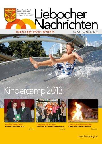 Kindercamp 2013 - Marktgemeinde Lieboch