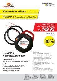 Kennenlern-Aktion Runpo5 - bis zu 30% Rabatt - Die RUNPOTEC ...