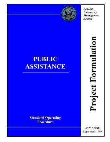 Project Formulation - Federal Emergency Management Agency