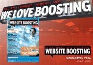 MEDIADATEN 2014 - Website Boosting