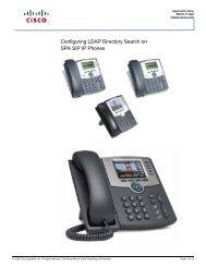 3 Initializing Cisco SIP IP Phones