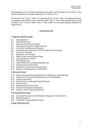 1 Prüfungsordnung für den Bachelorstudiengang Informatik und ...