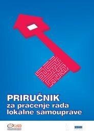 Priručnik za praćenje rada lokalne samouprave - CeSID