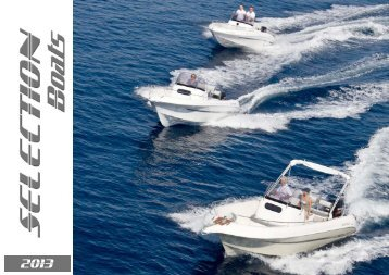 catalogue pdf - Selection Boats