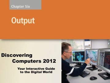 Chapter 5 – Output Devices