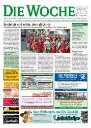 Ausgabe 31/13 - Redaktion + Verlag