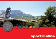 Bike Selection 2011 - bei Sport-Mathis!