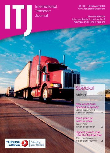 Read now ITJ issue 07-08/2013 - Transport Journal