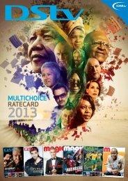 multichoice ratecard 2013 - New Media Publishing Showroom