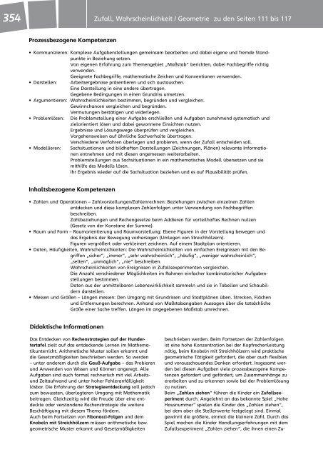 Zufall und Wahrscheinlichkeit / Geometrie - f.sbzo.de