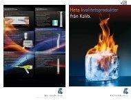 Heta kvalitetsprodukter från KaVo.