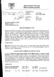 Zadávací dokumentace - příloha č. 9 (22/12 ... - Město Česká Lípa