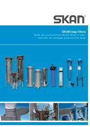 SKAN bag filters - Southland Filtration