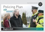 Magherafelt Policing Plan 2013/14