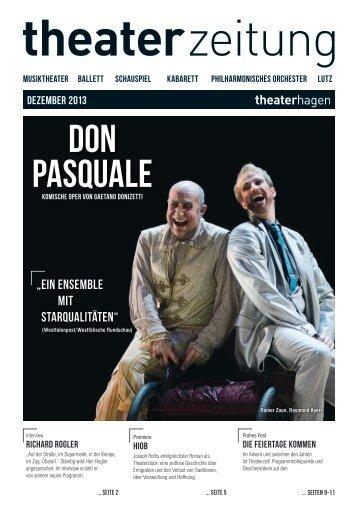Theaterzeitung Dezember 2013 - Theater Hagen