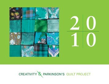 PDF Quilt Project Cover - Parkinson's Disease Foundation