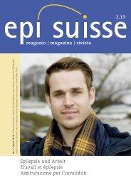 magazin - Epi-Suisse - Schweizerischer Verein für Epilepsie