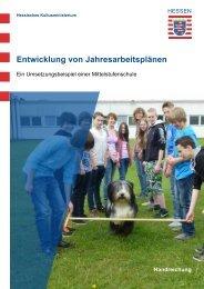 Entwicklung von Jahresarbeitsplänen - Mittelstufenschule - Hessen