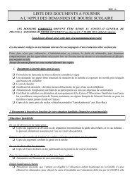 liste pieces a fournir dde de bourse 2013-2014 - Consulat Général ...