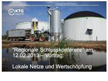 Lokale Netze und Wertschöpfung - Planungsgemeinschaft Prignitz ...
