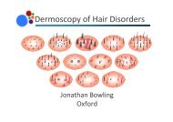 Dermoscopy of Hair Disorders notes