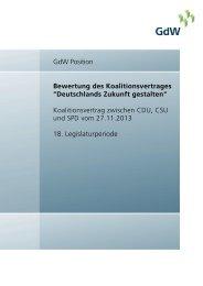 Bewertung des Koalitionsvertrages348.43 kB - GdW