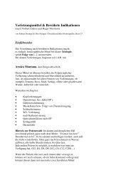 Verletzungsmittel & Bewährte Indikationen