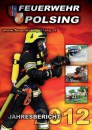 Jahresbericht 2012 - Freiwillige Feuerwehr Polsing