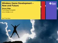 Wireless Game Development – Now and Future