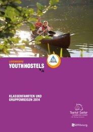 Klassenfahrten und Gruppenreisen 2014 - Youth Hostels